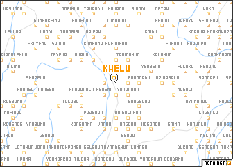 map of Kwelu