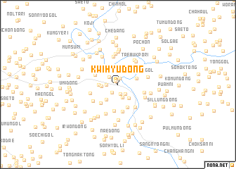 map of Kwihyu-dong