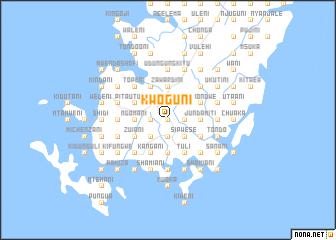 map of Kwoguni