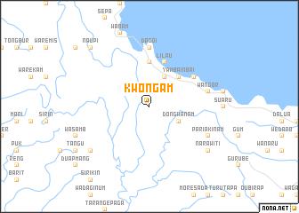 map of Kwongam
