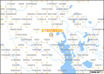 map of Kya-inbauk