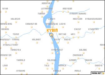 map of Kyain