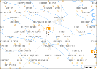 map of Kya-in