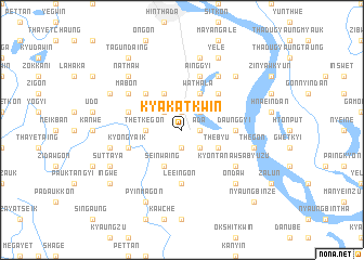 map of Kyakatkwin