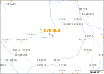 map of Kyakidu
