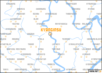 map of Kyanginsu