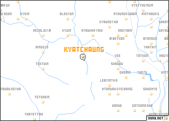 map of Kyatchaung
