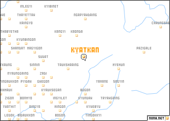 map of Kyatkan
