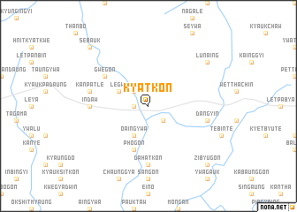 map of Kyatkon