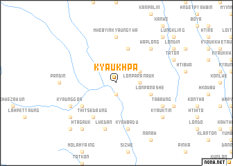 map of Kyaukhpa