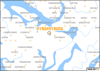 map of Kyaukmyaung