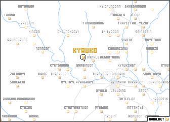 map of Kyauk-o