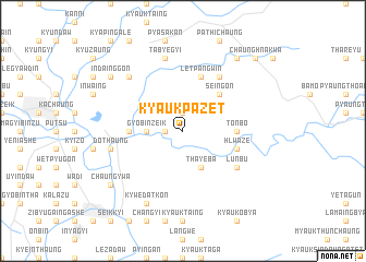 map of Kyaukpazet
