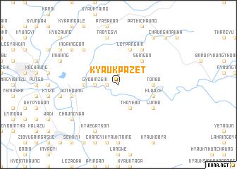 map of Kyaukpazet