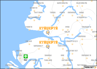 map of Kyaukpya