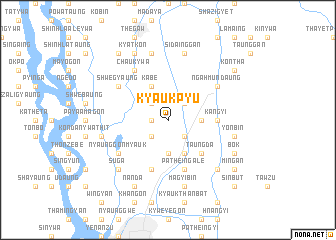 map of Kyaukpyu