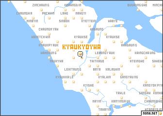 map of Kyauk-yoywa