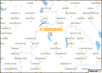 map of Kyaungaing