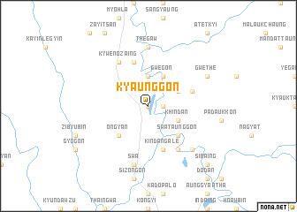 map of Kyaunggon