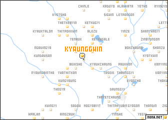 map of Kyaunggwin