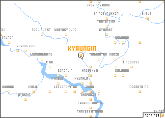 map of Kyaung In