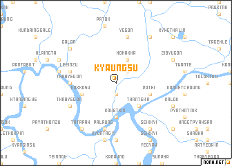 map of Kyaungsu