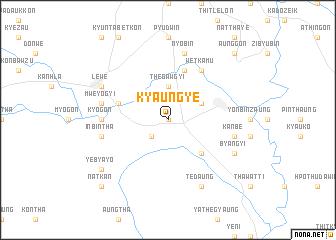 map of Kyaungye