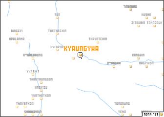 map of Kyaungywa