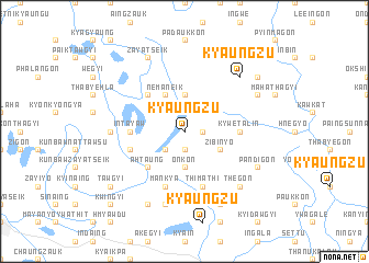 map of Kyaungzu