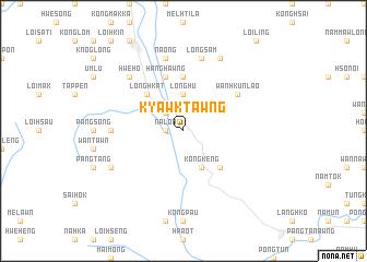 map of Kyawktawng