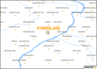 map of Kyawnglöng