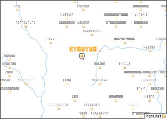 map of Kyawywa