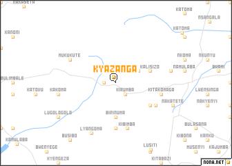map of Kyazanga