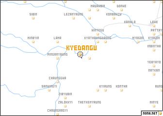 map of Kyedangu