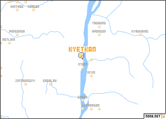 map of Kyetkan
