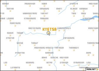 map of Kyetsa