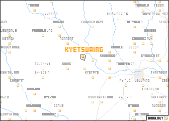 map of Kyetsuaing
