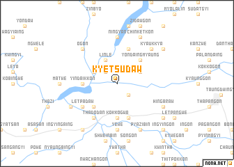 map of Kyetsudaw