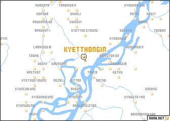 map of Kyetthongin