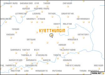 map of Kyetthungin