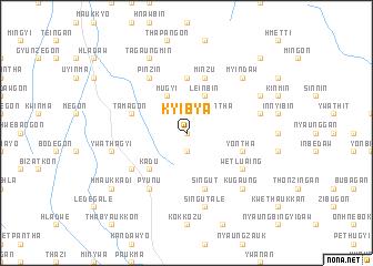 map of Kyibya