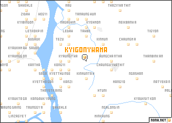 map of Kyigonywama