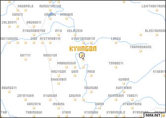 map of Kyi-ingon
