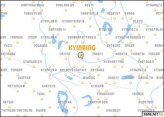 map of Kyinaing
