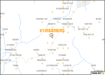 map of Kyin-ganaing