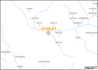 map of Kyinlet