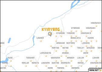 map of Kyinyang
