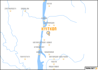 map of Kyitkon
