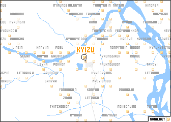 map of Kyizu