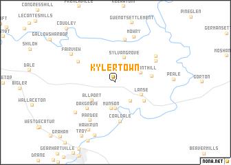 map of Kylertown